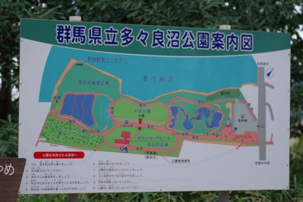 白鳥まつり 公園案内図