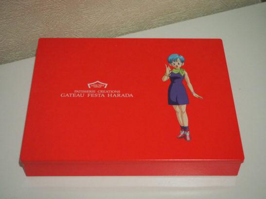 ハラダドラゴンボールラスク 赤い箱