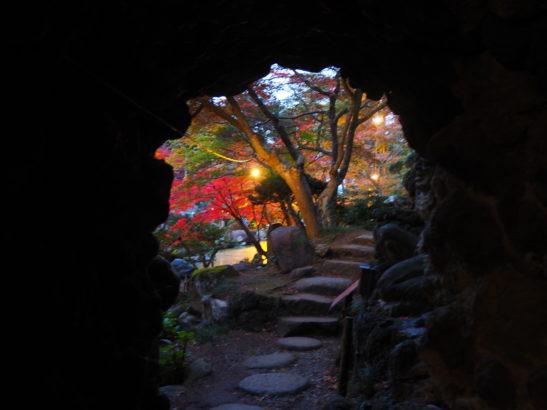 徳明園 洞窟観音