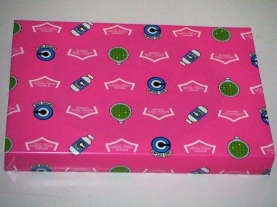 ハラダドラゴンボールラスク ピンク包装1
