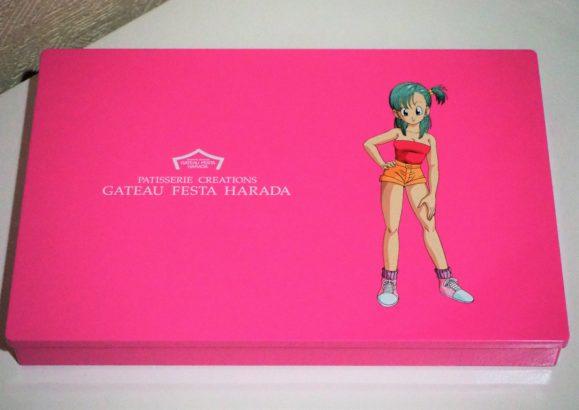 ハラダドラゴンボールラスク ピンク箱