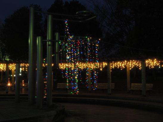 つつじが岡公園 イルミネーション・ライトアップ