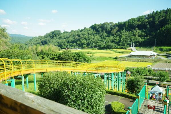 倉渕せせらぎ公園 展望塔からの景色