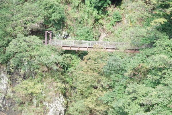 高津戸峡 はねこし橋 散策路
