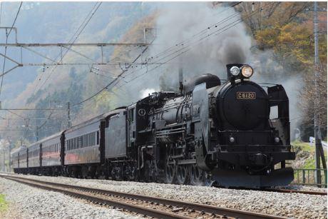 春の臨時列車 C61 20