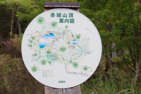 赤城神社 案内図