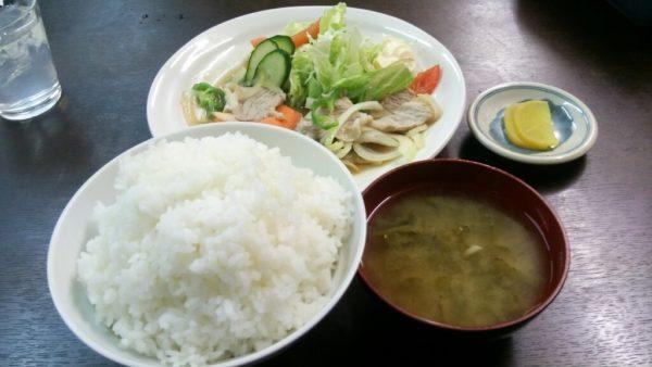 からさき食堂 肉野菜3