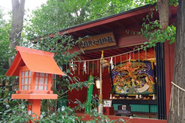 冠稲荷神社 七福神殿
