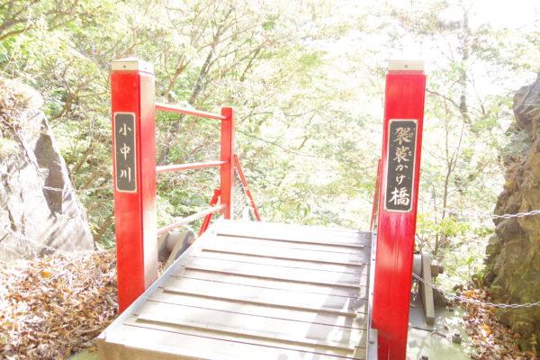 小中大滝けさかけ橋 橋の支柱
