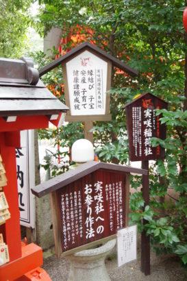 冠稲荷神社 実咲社