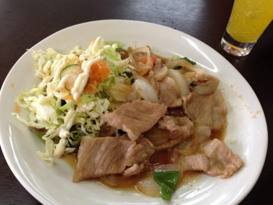 からさき食堂 肉野菜2