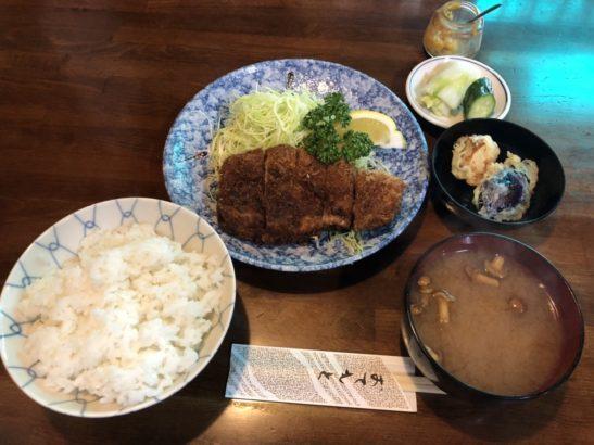菊乃家 定食
