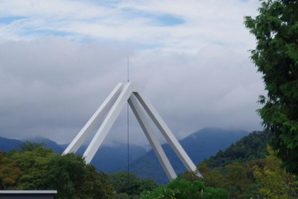 高津戸峡 はねこし橋 歩行者用絶景スポット