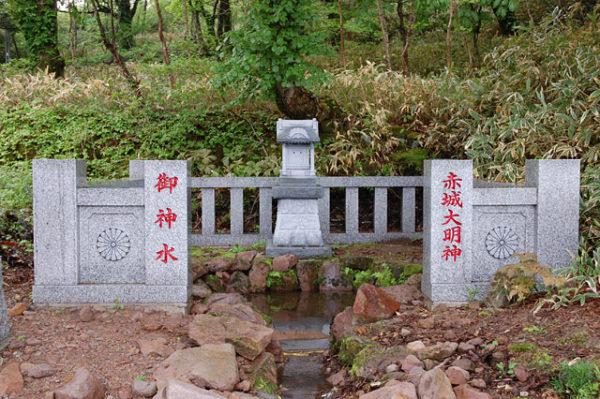 赤城神社 御神水