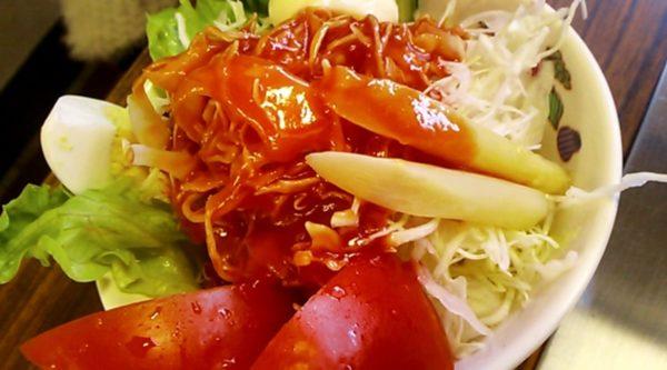 山木屋 サラダ