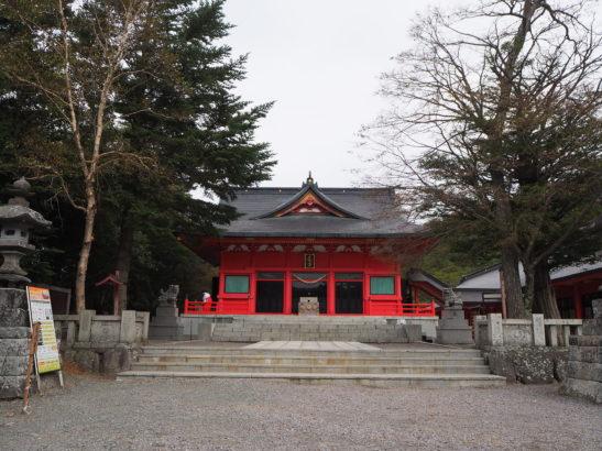 赤城神社 小鳥ヶ島