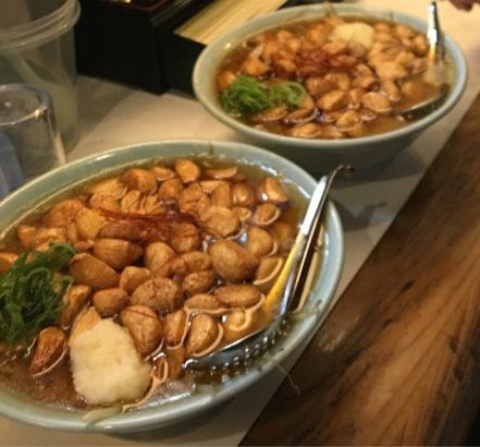 麺者侍 ユニークなラーメンが自慢