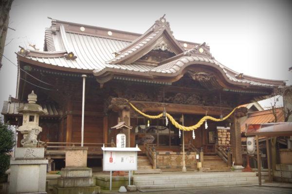 伊勢崎神社×はぐちさんコラボキーホルダー 伊勢崎神社