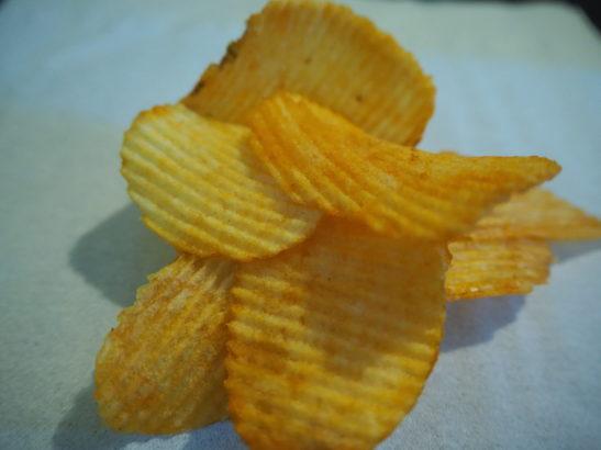 カルビーポテトチップス ベスビオ味実物