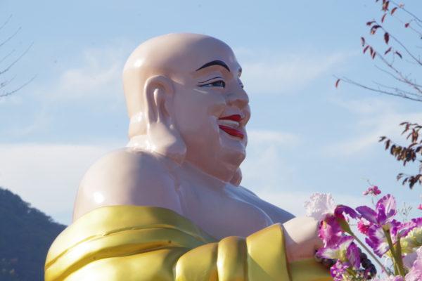 佛光山法水寺 存在感ありありの仏像