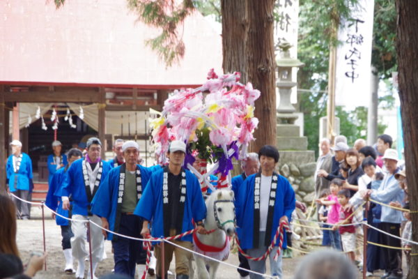 土師神社 2001年に復活