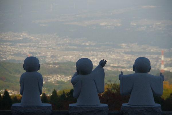 佛光山法水寺 渋川周辺の景色が一望できる