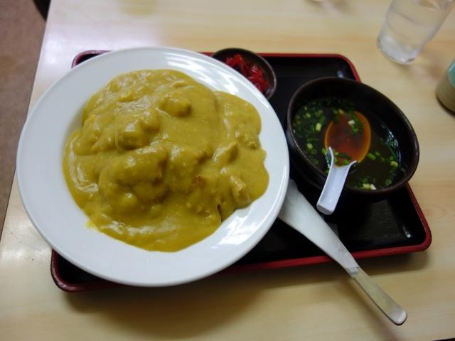 松島軒 黄色いカレーライス