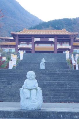 佛光山法水寺 可愛らしい石像