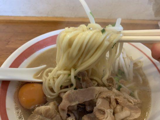 光☆MENJI 光MENJI風徳島ラーメン中太麺