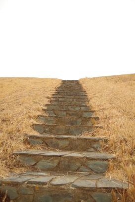観音山古墳 階段