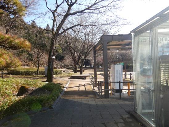 横川サービスエリア上り 喫煙コーナー