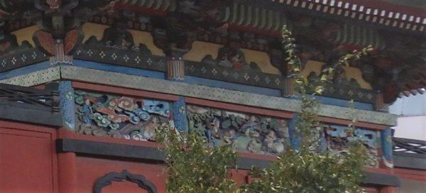 小祝神社 文化財の彫刻