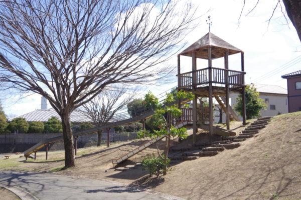 三ツ寺公園 ローラー滑り台3