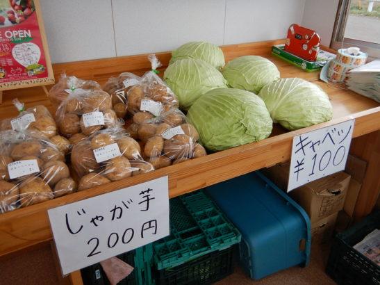 れいわイチゴ園 売店で販売されている野菜