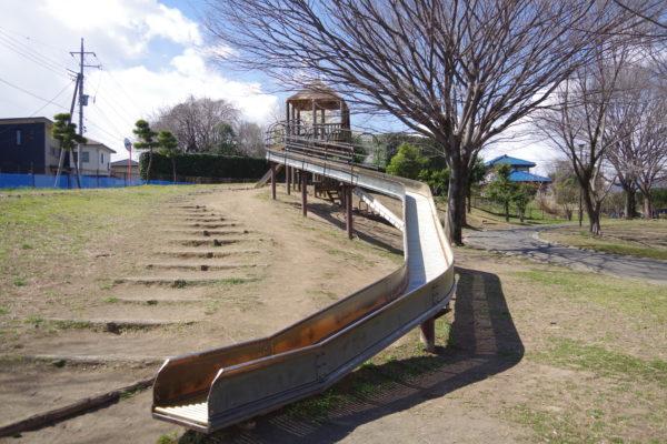 三ツ寺公園 ローラー滑り台1