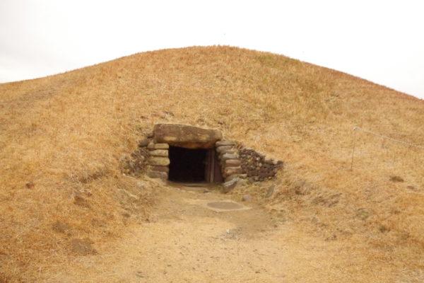 観音山古墳 石室