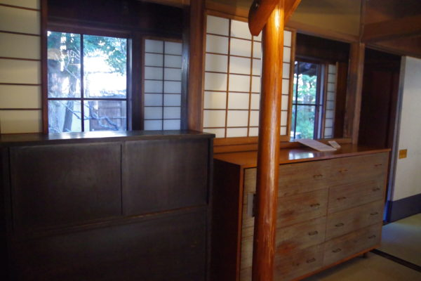 旧井上房一郎邸 プレイベートスペース2