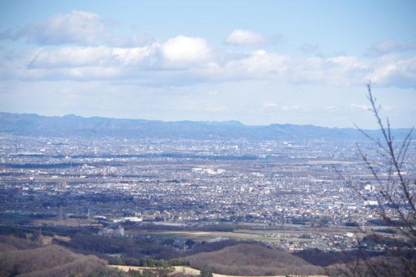 牛伏山自然公園 展望台からの景色1