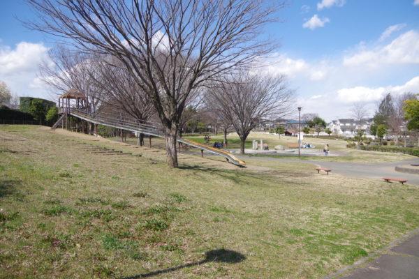 三ツ寺公園 ローラー滑り台2