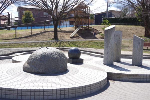 三ツ寺公園 噴水広場2
