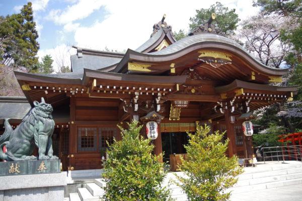 進雄神社 社殿2