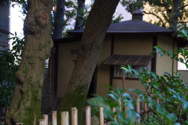 旧井上房一郎邸 庭園にある茶室