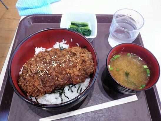 横川サービスエリア上り ソースカツ丼