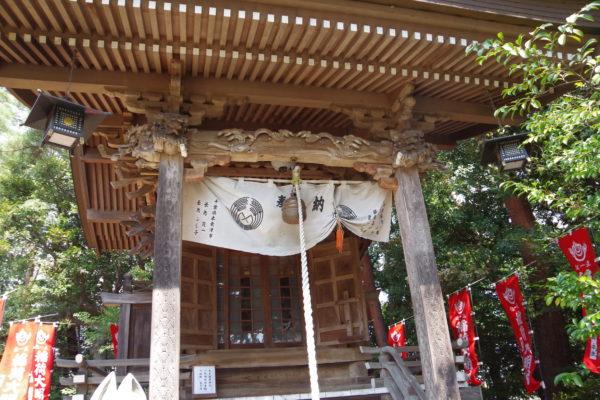 進雄神社 拝殿