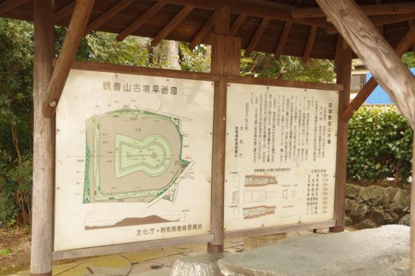観音山古墳 平面図