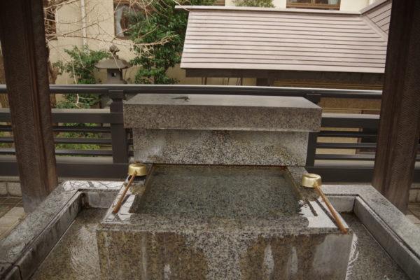 高崎神社 手水舎