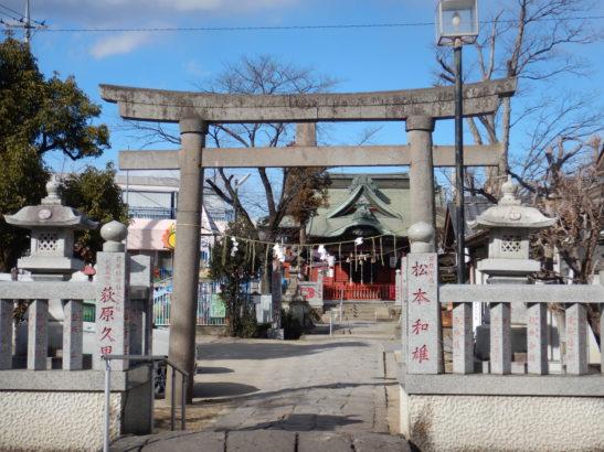 小祝神社 新門