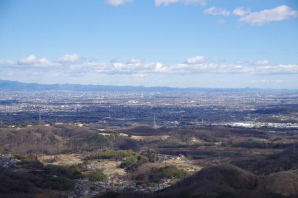 牛伏山自然公園 展望台からの絶景