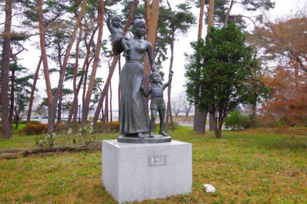 彫刻の小径 展示