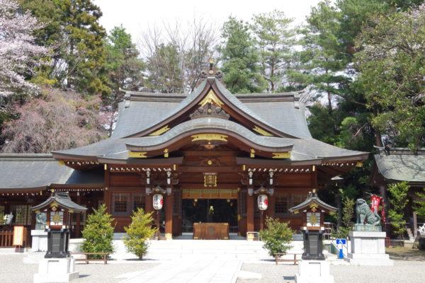 進雄神社 社殿